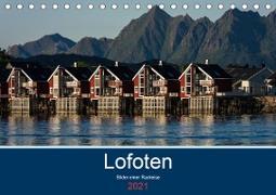 Cover-Bild zu Ulven Photography - Wiebke Schröder, Lille: Lofoten 2021 - Bilder einer Radreise (Tischkalender 2021 DIN A5 quer)