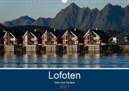 Cover-Bild zu Ulven Photography - Wiebke Schröder, Lille: Lofoten 2021 - Bilder einer Radreise (Wandkalender 2021 DIN A3 quer)
