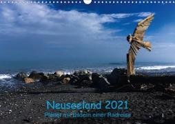 Cover-Bild zu Ulven Photography - Wiebke Schröder, Lille: Neuseeland 2021 - Planer mit Bildern einer Radreise (Wandkalender 2021 DIN A3 quer)