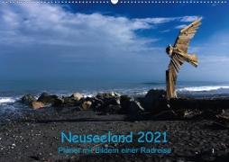 Cover-Bild zu Ulven Photography - Wiebke Schröder, Lille: Neuseeland 2021 - Planer mit Bildern einer Radreise (Wandkalender 2021 DIN A2 quer)