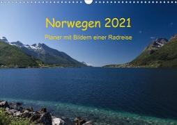 Cover-Bild zu Ulven Photography (Wiebke Schröder), Lille: Norwegen 2021 - Planer mit Bildern einer Radreise (Wandkalender 2021 DIN A3 quer)