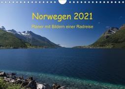 Cover-Bild zu Ulven Photography (Wiebke Schröder), Lille: Norwegen 2021 - Planer mit Bildern einer Radreise (Wandkalender 2021 DIN A4 quer)