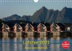 Cover-Bild zu Ulven Photography - Wiebke Schröder, Lille: Lofoten 2021 - Bilder einer Radreise (Wandkalender 2021 DIN A4 quer)
