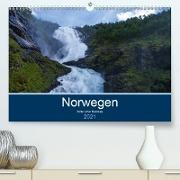 Cover-Bild zu Ulven Photography (Wiebke Schröder), Lille: Norwegen 2021 - Bilder einer Radreise (Premium, hochwertiger DIN A2 Wandkalender 2021, Kunstdruck in Hochglanz)