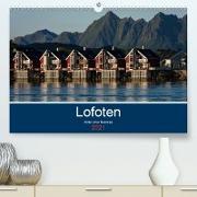 Cover-Bild zu Ulven Photography - Wiebke Schröder, Lille: Lofoten 2021 - Bilder einer Radreise (Premium, hochwertiger DIN A2 Wandkalender 2021, Kunstdruck in Hochglanz)