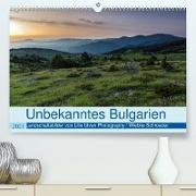 Cover-Bild zu Schröder, Wiebke: Unbekanntes Bulgarien (Premium, hochwertiger DIN A2 Wandkalender 2021, Kunstdruck in Hochglanz)
