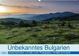 Cover-Bild zu Schröder, Wiebke: Unbekanntes Bulgarien (Wandkalender 2021 DIN A2 quer)