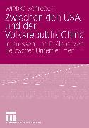 Cover-Bild zu Schröder, Wiebke: Zwischen den USA und der Volksrepublik China (eBook)