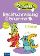 Cover-Bild zu Ernsten, Svenja: Die Buchmonster Rechtschreibung & Grammatik, 1. Klasse