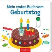 Cover-Bild zu Choux, Nathalie (Illustr.): Mein erstes Buch vom Geburtstag