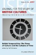 Cover-Bild zu British Temporalities. The Times of Culture and the Culture of Time (eBook) von Schneider, Ralf