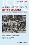 Cover-Bild zu Early Modern Spectacles (eBook) von Gruss, Susanne (Hrsg.)