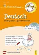 Cover-Bild zu Stoifl, Erika: Lernen mit Teo und Tia Deutsch - 4. Klasse Volksschule mit CD