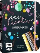 Cover-Bild zu Tihanyi, Lisa: Sei kreativ! Jahresplaner 2019 - 52 DIY-Projekte, Ideen und Tipps