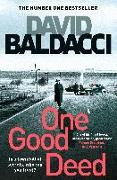 Cover-Bild zu Baldacci, David: One Good Deed