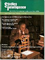 Cover-Bild zu Center for the Study of Intelligence (U (Hrsg.): Studies in Intelligence: Journal of the American Intelligence Professional, V. 60, No. 1 (Unclassified Articles from March 2016)