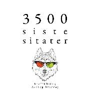 Cover-Bild zu Austen, Jane: 3500 siste sitater (Audio Download)