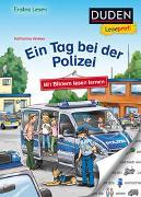 Cover-Bild zu Wieker, Katharina: Duden Leseprofi - Mit Bildern lesen lernen: Ein Tag bei der Polizei, Erstes Lesen