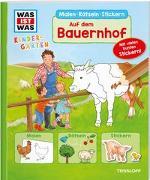 Cover-Bild zu Wenzel, Ida: WAS IST WAS Kindergarten Malen Rätseln Stickern Auf dem Bauernhof