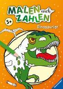Cover-Bild zu Richter, Stefan (Illustr.): Malen nach Zahlen ab 5 Jahren: Dinosaurier