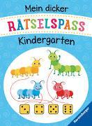 Cover-Bild zu Mein dicker Rätselspaß Kindergarten von Jones, Josy (Einbandgest.)
