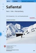 Cover-Bild zu Safiental. 1:50'000