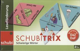 Cover-Bild zu Schubitrix Leseförderung Schwierige Wörter