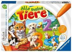 Cover-Bild zu tiptoi® Alle meine Tiere