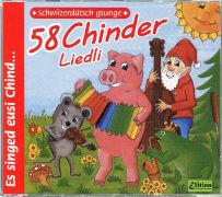 Cover-Bild zu 58 Chinder-Liedli