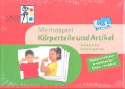 Cover-Bild zu KonLab. Struktur der Nominalphrase 3. Körperteile und Artikel. Memospiel