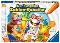 Cover-Bild zu tiptoi® Der hungrige Zahlen-Roboter