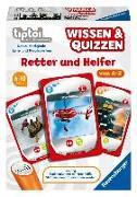 Cover-Bild zu tiptoi® Wissen & Quizzen: Retter und Helfer