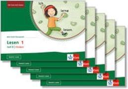 Cover-Bild zu Mein Anoki-Übungsheft. Lesen 1. Heft B | Fördern. Übungsheft im 5er-Paket Klasse 1