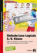 Cover-Bild zu Einfache Lese-Logicals - 5./6. Klasse (eBook) von Rosendahl, Julia