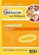 Cover-Bild zu Inklusion von Anfang an: Deutsch - Leseheft 4: Für Lesekönige von Pakulat, Dorothee