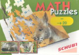 Cover-Bild zu Mathpuzzles. Subtraktion bis 20
