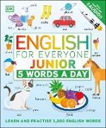 Cover-Bild zu English for Everyone Junior 5 Words a Day (eBook)