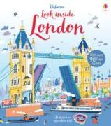 Cover-Bild zu Look Inside London von Melmoth, Jonathan