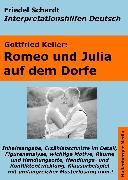Cover-Bild zu Romeo und Julia auf dem Dorfe - Lektürehilfe und Interpretationshilfe. Interpretationen und Vorbereitungen für den Deutschunterricht (eBook) von Keller, Gottfried