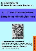 Cover-Bild zu Simplicius Simplicissimus. Unterrichtsmodell und Unterrichtsvorbereitungen. Unterrichtsmaterial und komplette Stundenmodelle für den Deutschunterricht (eBook) von Grimmelshausen, H. J. C. v.