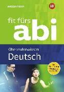 Cover-Bild zu Fit fürs Abi. Deutsch Oberstufenwissen von Schardt, Friedel