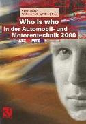 Cover-Bild zu Who is who in der Automobil- und Motorentechnik 2000 (eBook) von Seiffert, Ulrich (Hrsg.)