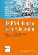 Cover-Bild zu UR:BAN Human Factors in Traffic von Bengler, Klaus (Hrsg.)