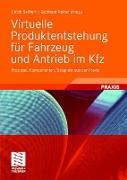 Cover-Bild zu Virtuelle Produktentstehung für Fahrzeug und Antrieb im Kfz von Seiffert, Ulrich (Hrsg.)
