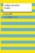 Cover-Bild zu Reigen. Textausgabe mit Kommentar und Materialien von Schnitzler, Arthur