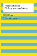 Cover-Bild zu Die Jungfrau von Orleans. Textausgabe mit Kommentar und Materialien von Schiller, Friedrich
