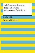 Cover-Bild zu Peter Schlemihls wundersame Geschichte. Textausgabe mit Kommentar und Materialien von Chamisso, Adelbert von
