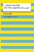 Cover-Bild zu Die Verlobung in St. Domingo (eBook) von Kleist, Heinrich von
