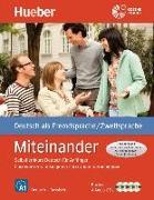 Cover-Bild zu Miteinander. Selbstlernkurs Deutsch für Anfänger. Russische Ausgabe von Aufderstraße, Hartmut