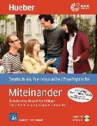 Cover-Bild zu Miteinander. Corso di tedesco per principianti autodidatti. Italienische Ausgabe - Buch mit 1 Audio-CD in MP3 Format von Aufderstraße, Hartmut